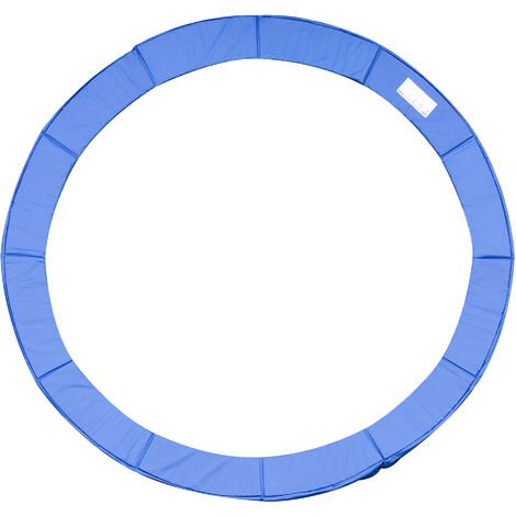 Homcom 13ft Trampoline Pad Surround Safety Pad Thick Foam Pading Pads - Blue
