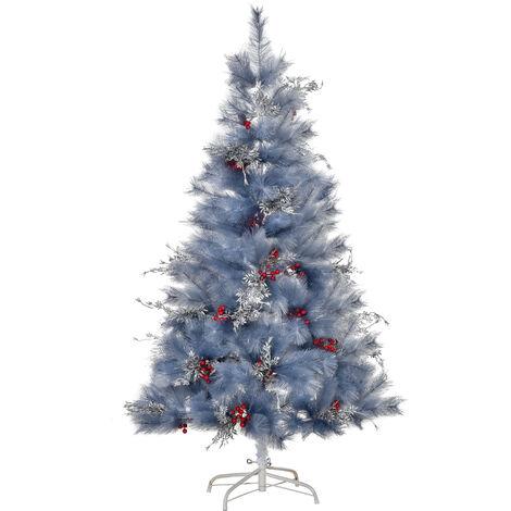 HOMCOM Árbol de Navidad 150cm Artificial Árbol de Pino con Piezas de Decoración 222