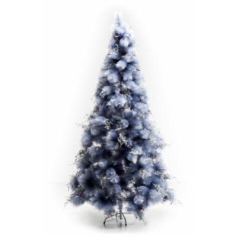 HOMCOM Árbol de Navidad 210cm Artificial Árbol de Pino con Piezas de Decoración 499
