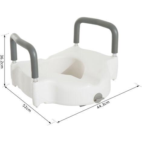 Homcom asiento de inodoro