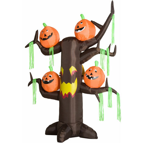 Homcom Halloween Deko Aufblasbare Katze Figur Schwarz Luftfigur Mit Led L1 9m Sonstige Mobel Wohnen Dentalmed Rs