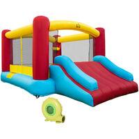 HOMCOM Castillo Hinchable 366x274x183cm Castillo Infantil Juego Niño de 3 a 10 Años