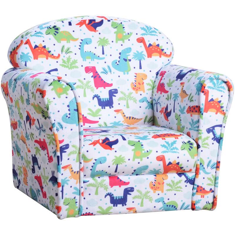 Blue Recliner Chair for Kids Armchair Children Furniture Sofa Seat Study Relax