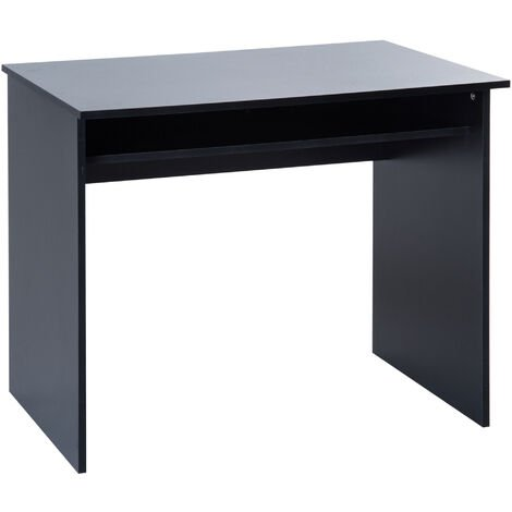 HOMCOM Computer PC Desk Table Study Home Office Workstation 50x90cm Black
