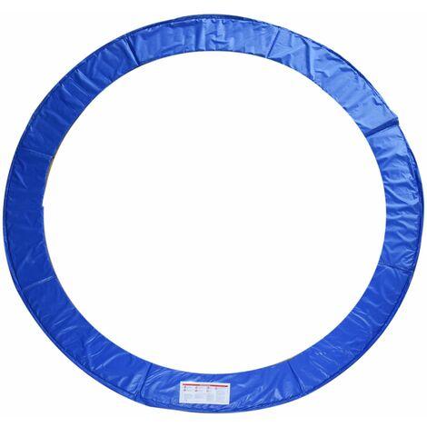 HOMCOM Cubierta de proteccion borde cama elástica y trampolines, diámetro ø 305, color azul
