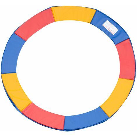 HOMCOM Cubierta de proteccion borde cama elástica y trampolines, diámetro ø 305, color colorido