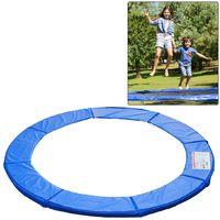 Homcom cubierta proteccion borde cama elastica 305 cm azul trampolines cama elástica