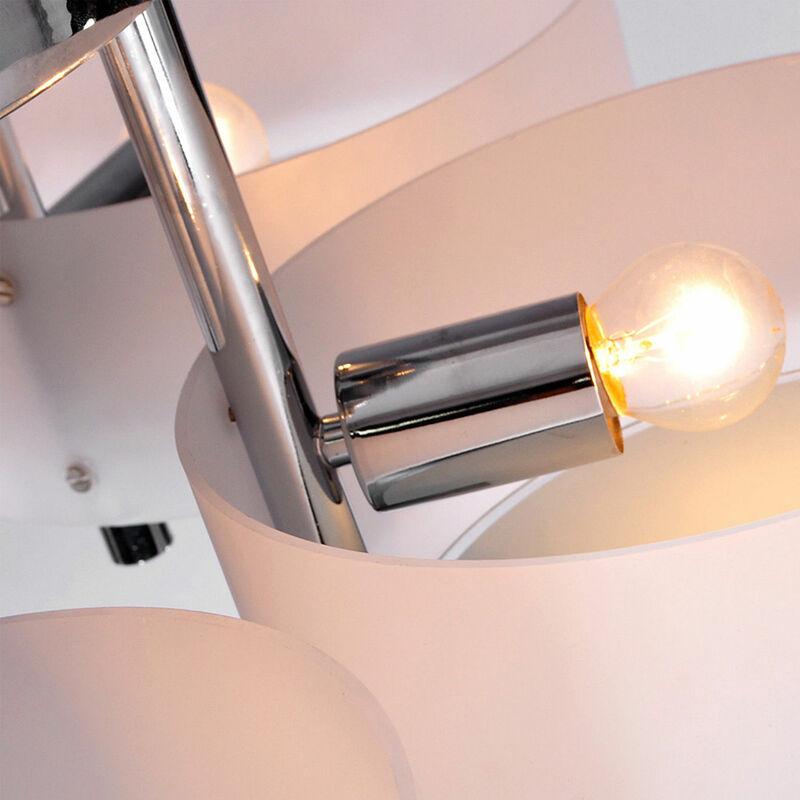 LED Decken Lampe Wohn Zimmer Alabaster Glas Beleuchtung Blätter Ranken Leuchte