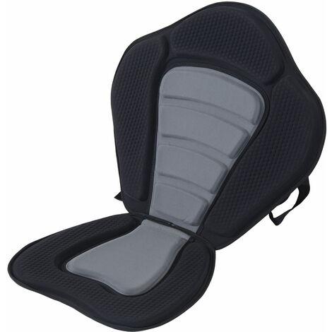 HOMCOM Deluxe Kayak Seat Sit On Top Padded Backrest Canoe Rafting Sports High Back Detachable