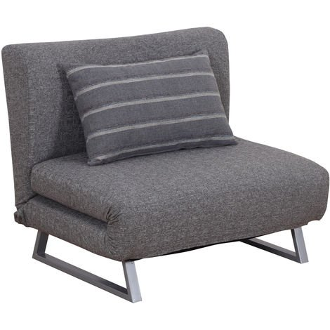 Phenomenal Homcom Folding Sofa Bed Chair Convertible Lounge Couch Futon Cjindustries Chair Design For Home Cjindustriesco