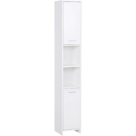 """main image of """"HOMCOM Freestand Bathroom Bedroom Storage Cabinet w/Door Cupboard Shelves"""""""
