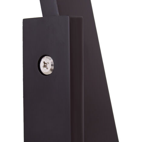 HOMCOM Freestanding Long Dressing Mirror Adjustable Angle 148x47cm Dark Brown