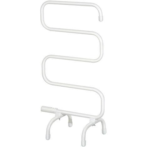 HOMCOM® Handtuchwärmer Elektrisch Freistehend Milchweiß