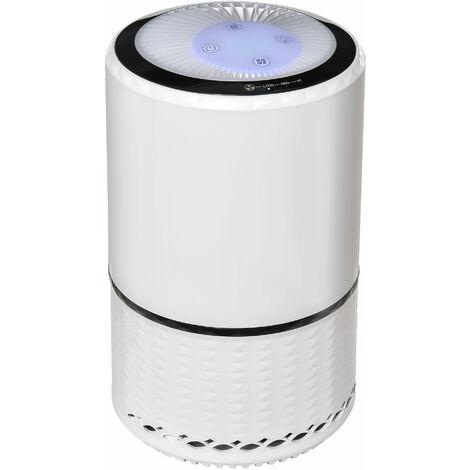 HOMCOM HEPA filter 3-Stage Air Purifier Home Cleaner w/ 3 Speeds Night Light
