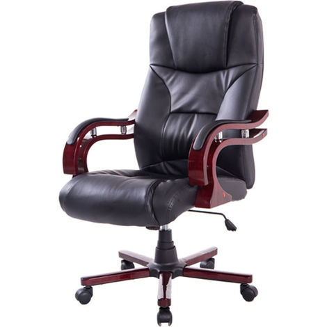 Sensational Homcom High Back Office Swivel Executive Leather Desk Chair Caraccident5 Cool Chair Designs And Ideas Caraccident5Info
