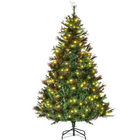 Künstlicher Weihnachtsbaum weiß 120cm 300 Zweige Weihnachten Tannenbaum Advent
