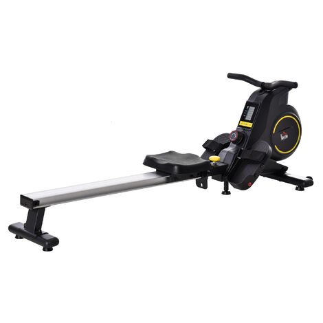 """main image of """"HOMCOM Magnetic Rowing Machine w/ LCD Monitor Indoor Body Health Fitness Adjustable"""""""
