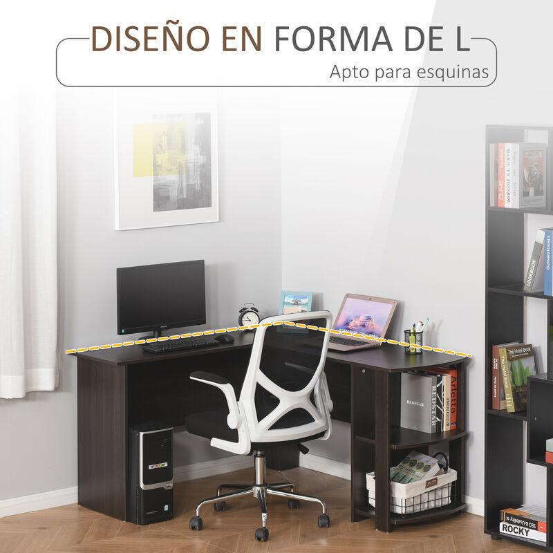 Negro Mesa de Oficina Escritorio de la Computadora con 4 Ruedas para Hogar o Oficina Estilo 1 Mesa de Ordenador Moderna