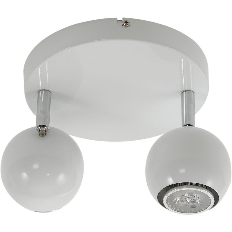 Ceiling Lamp with 6 Spotlights E14 Black and Copper Lighting Fixture  230V~,50Hz