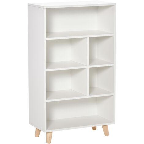 "main image of ""HOMCOM Modern Bookshelf Bookcase Storage Display Cabinet Unit Home Office"""
