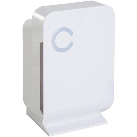 HOMCOM Portable 1300ml Dehumidifier Damp Mould Condensation Moisture