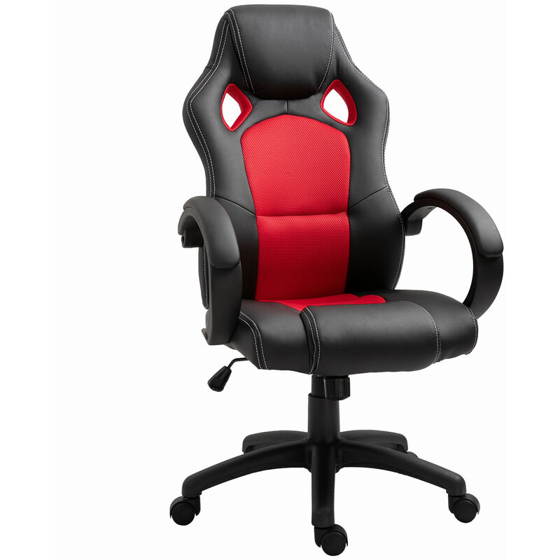 Homcom Racing Gaming Sports Chair Swivel Desk Chair