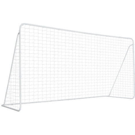 HOMCOM Soccer Goal with All Weather Net Portable Sports Soccer Goal