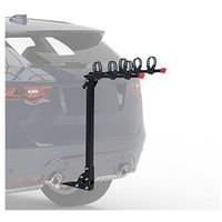 "Homcom SUV Car Hitch Mount Cycle Rack with 2"" Receiver up to 3 Bikes Black"