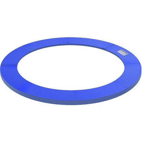 HOMCOM® Trampolin-Randabdeckung | PVC PE | Ø244 cm | Blau - blau
