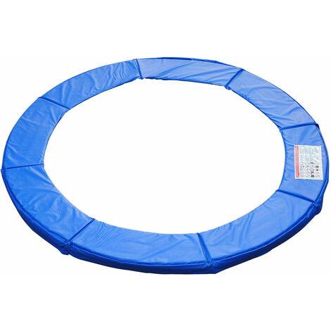 HOMCOM® Trampolin-Randabdeckung | PVC PE | Ø305 cm | Blau - blau