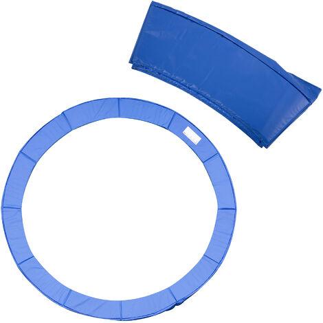HOMCOM® Trampolin-Randabdeckung | PVC PE | Ø366 cm | Blau - blau
