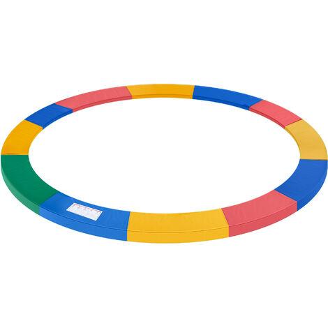HOMCOM® Trampolin-Randabdeckung | PVC PE | Ø366 cm | Bunt - bunt