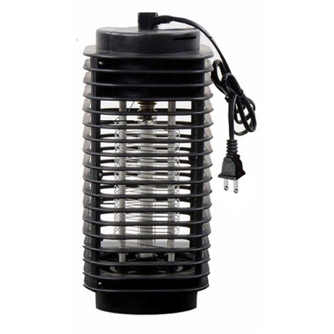 Home ABS Appliance Bug Mosquito Lure Trap Lamp Killer, LED Zapper Electric Mosquito Lamp