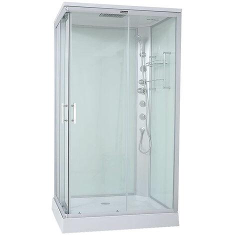 Th AcquaVapore DTP8060-7301L Dusche Duschtempel Komplett Duschkabine 120x80