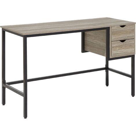 Home Desk 120 x 48 cm Light Wood GRANT