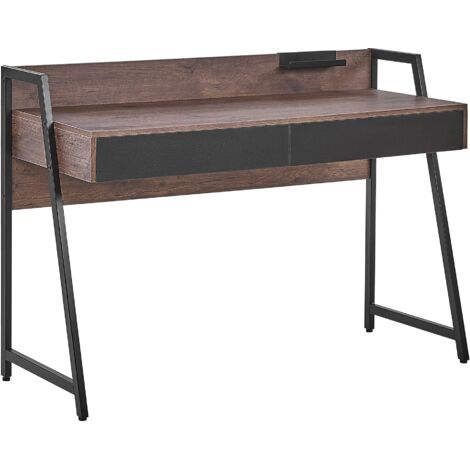 Home Desk 120 x 50 cm Dark Wood HARWICH