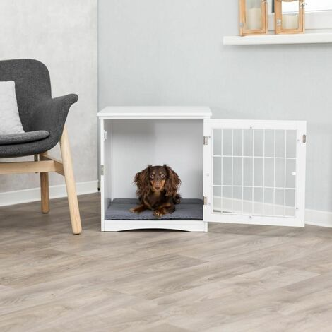 Home kennel - S: 48 × 51 × 51 cm, blanc