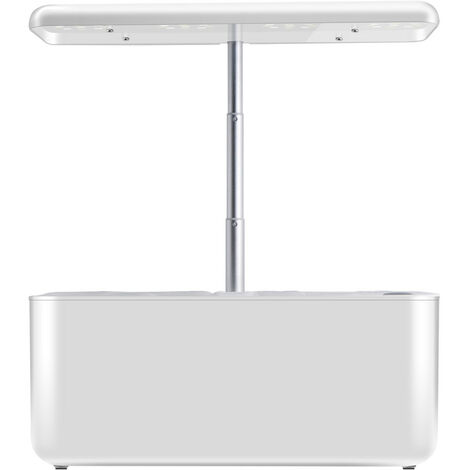 Home Smart Planters Potted Planters Soilless Grow Urns with LED Light (White, Style 2 / EU Plug)