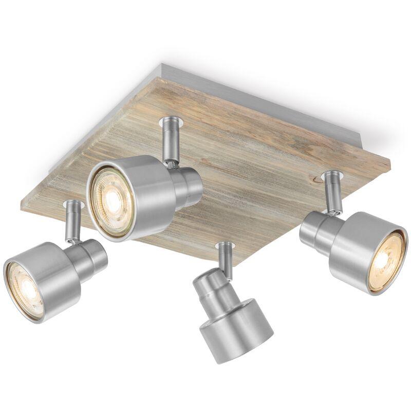 LED Spot Drift matt Stahl 23cm 4x5,8W - Home Sweet Home
