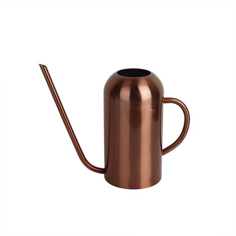 Homegarden Stainless Steel Watering Can Semicircle heightening with Long Spout 53oz/1.5L