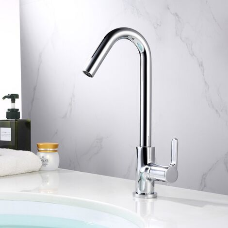 Spültischarmatur Küchenarmatur Wasserhahn Kaltwasserhahn Waschtischarmatur Chrom