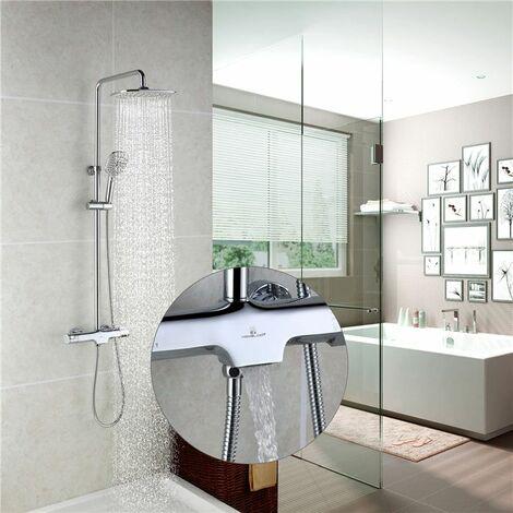 homelody colonne de douche thermostatique ensemble de. Black Bedroom Furniture Sets. Home Design Ideas