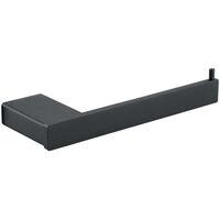 HOMELODY Portarrollo papel higiénico con rodillo de acero inoxidable Soporte de papel cepillado Para Papel Higiénico Bandeja De Papel Higiénico baño SS 304 Acero Inoxidable
