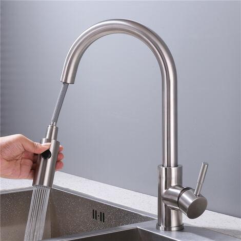 Homelody Rubinetto lavabo doccia ricambio testa 2 funzioni di getto rubinetto della cucina dello spruzzo della mano lavello rubinetto della cucina doccia Cucina