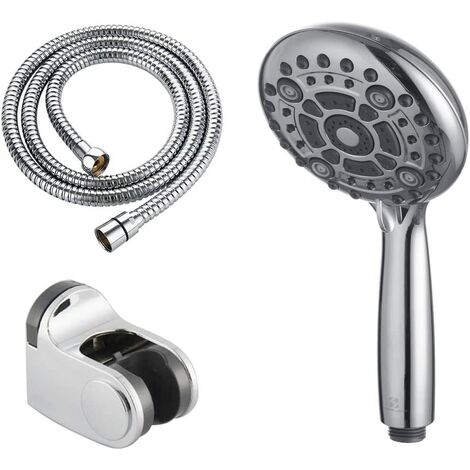 Homelody Shower Head Handheld Universal with Hose and Holder