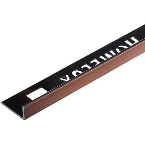 Homelux aluminium copper tile trim 10mm