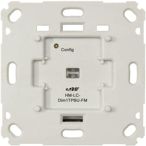 Homematic 103020 HM-LC-Dim1TPBU-FM Dimmer 1 canale Da incasso 180 W