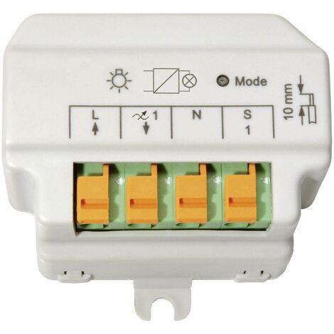 Homematic 91816 HM-LC-DIM1T-FM Dimmer di controllo di fase 1 canale Da incasso 180 VA