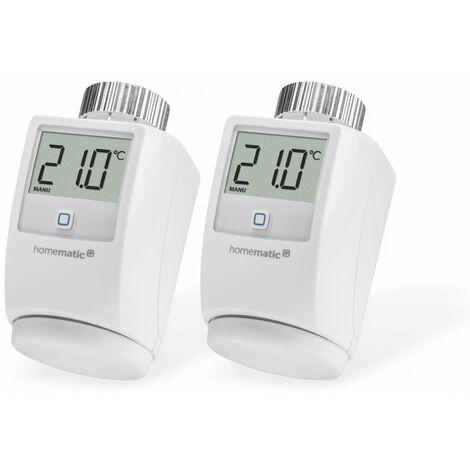HOMEMATIC IP 140280 Heizkörper-Thermostat, 2 Stück
