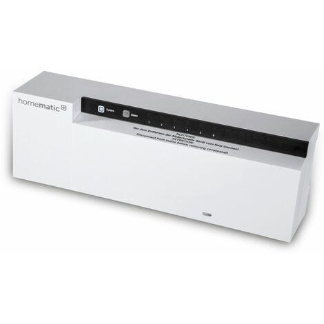 HOMEMATIC IP 143237A0, Fußbodenheizungsaktor 6-fach, 24 V
